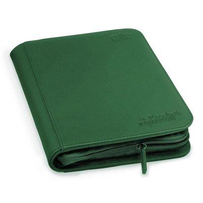 Ultimate Guard 4-Pocket ZipFolio XenoSkin Green