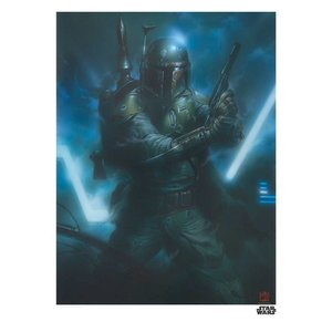 Star Wars Art Print Fett 35 x 28 cm