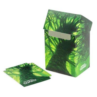 Ultimate Guard Basic Deck Case 80+ Standard Size Lands Edition Forest I