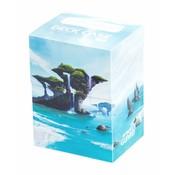 Ultimate Guard Basic Deck Case 80+ Standard Size Lands Edition Island I