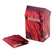 Ultimate Guard Basic Deck Case 80+ Standard Size Lands Edition Mountain I
