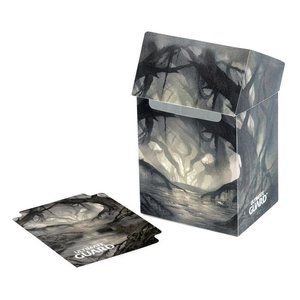 Ultimate Guard Basic Deck Case 80+ Standard Size Lands Edition Swamp I
