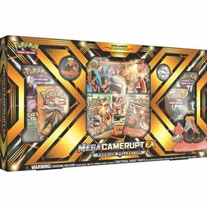 Pokemon TCG Camerupt-EX Mega Premium Collection Box