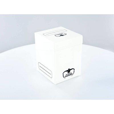 Ultimate Guard Deck Case 100+ Standard Size White