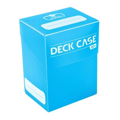 Ultimate Guard Deck Case 80+ Standard Size Light Blue