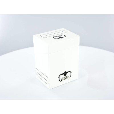 Ultimate Guard Deck Case 80+ Standard Size White