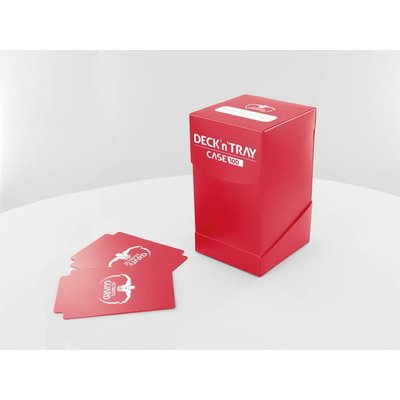 Ultimate Guard Deck'n'Tray Case 100+ Standard Size Red