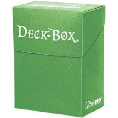 Ultra Pro Deckbox Solid Lichtgroen