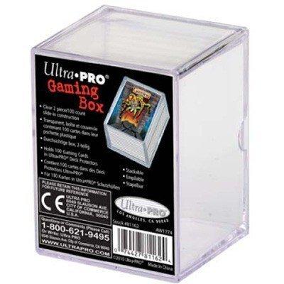Ultra Pro Perspex opruimbox voor 100 kaarten