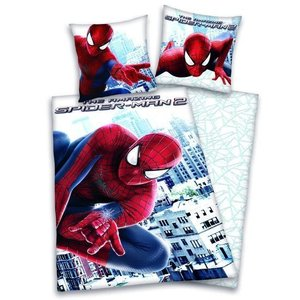 Marvel Comics Spiderman Cartoon Duvet 140x200/70x90 cm