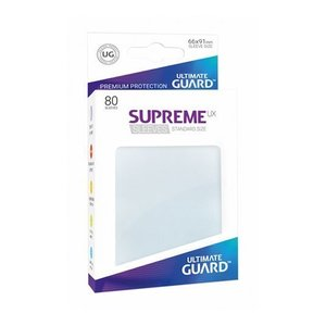 Ultimate Guard Supreme UX Sleeves Standard Size Frosted (80)