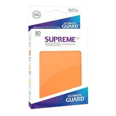 Ultimate Guard Supreme UX Sleeves Standard Size Orange (80)