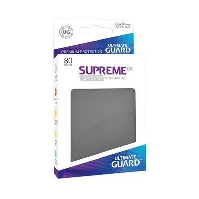 Ultimate Guard Supreme UX Sleeves Standard Size Dark Grey (80)