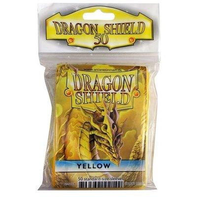 Dragon Shield Standard Sleeves Yellow (50 Sleeves)