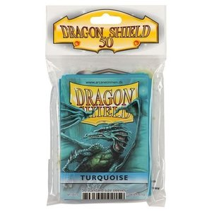 Dragon Shield Standard Sleeves Turquoise (50 Sleeves)