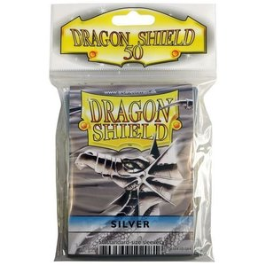 Dragon Shield Standard Sleeves Silver (50 Sleeves)