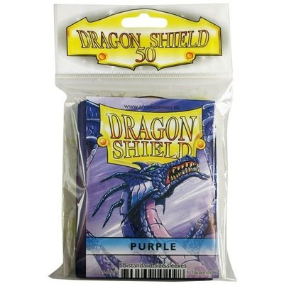 Dragon Shield Standard Sleeves Purple (50 Sleeves)
