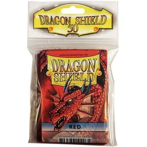Dragon Shield Standard Sleeves Red (50 Sleeves)