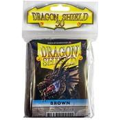 Dragon Shield Standard Sleeves Brown (50 Sleeves)