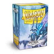 Dragon Shield Standard Sleeves Matte Petrol (100 Sleeves)