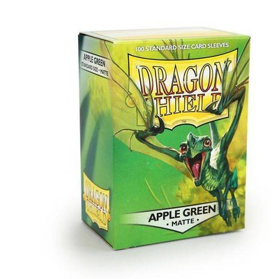Dragon Shield Standard Sleeves Matte Apple Green (100 Sleeves)