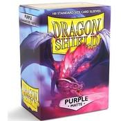 Dragon Shield Standard Sleeves Matte Purple (100 Sleeves)