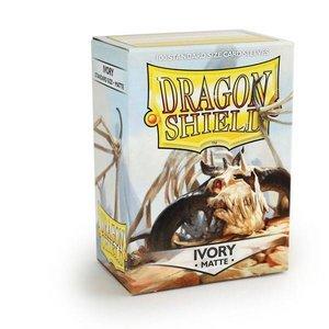 Dragon Shield Standard Sleeves Matte Ivory (100 Sleeves)