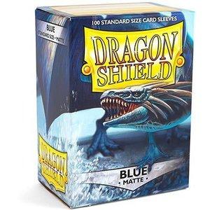 Dragon Shield Standard Sleeves Matte Blue (100 Sleeves)