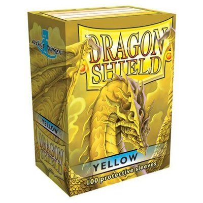 Dragon Shield Standard Sleeves Yellow (100 Sleeves)