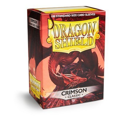 Dragon Shield Standard Sleeves Crimson (100 Sleeves)