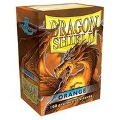 Dragon Shield Standard Sleeves Orange (100 Sleeves)