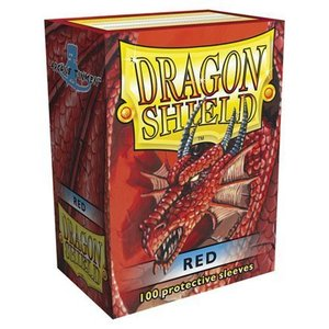 Dragon Shield Standard Sleeves Red (100 Sleeves)