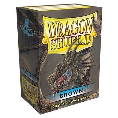 Dragon Shield Standard Sleeves Brown (100 Sleeves)