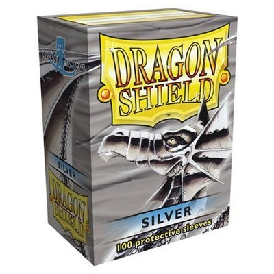 Dragon Shield Standard Sleeves Silver (100 Sleeves)