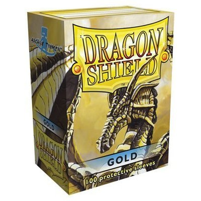Dragon Shield Standard Sleeves Gold (100 Sleeves)