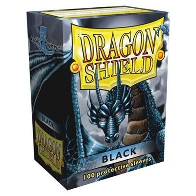 Dragon Shield Standard Sleeves Black (100 Sleeves)