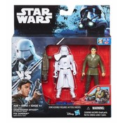 Star Wars Hasbro Rogue One Action Figure 2-pack 10 cm First Order Snowtrooper Officer & Poe Dameron