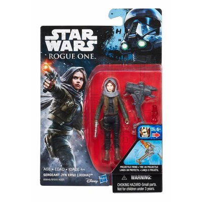 Star Wars Hasbro Rogue One Action Figure 10 cm Sgt Jyn Urso (Jedah)