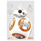 Star Wars Wall Decor BB-8 100 x 70 cm