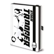 Star Wars Premium Notebook A5 Stormtrooper