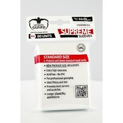 Ultimate Guard Supreme Sleeves Standard Size Solid White (80)
