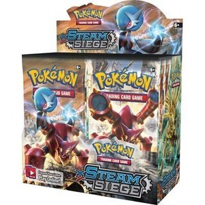 Pokemon TCG Steam Siege XY11 Booster Box