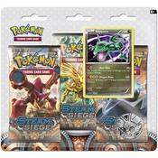 Pokemon TCG SET Azelf & Rayquaza XY11 3-Booster Promo Blisters