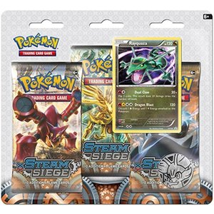 Pokemon TCG SET Azelf & Rayquaza XY11 3-Booster Promo Blisters