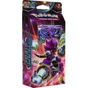 Pokemon TCG Steam Siege XY11''Rings of Lightning'' Theme Deck - Hoopa