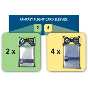 Fantasy Flight Games Mini American Board Game Sleeves