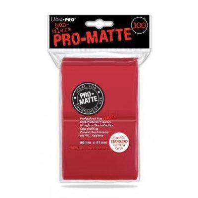 Ultra Pro Voordeelpack Rood Matte