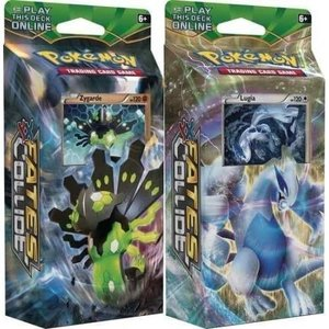Pokemon TCG SET Fates Collide XY10 ''Battle Ruler'' & ''Sky Guardian'' Theme Decks