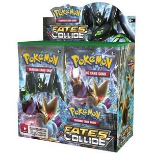 Pokemon TCG Fates Collide XY10 Booster Box