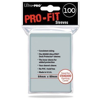 Ultra Pro Standard Size Pro-Fit Card Sleeves